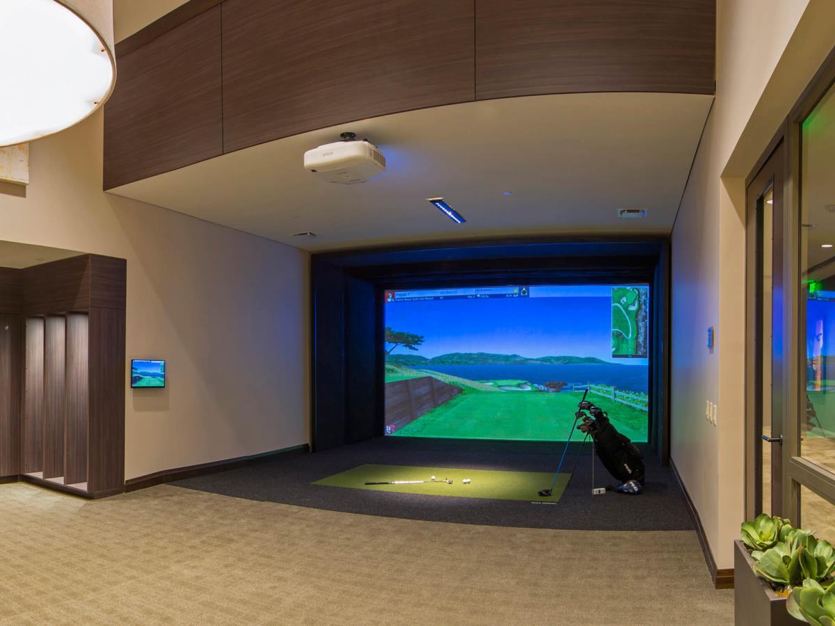 Golf Simulator at Listing #262393