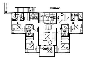1,425 sq. ft. floor plan