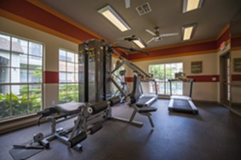 Fitness Center at Listing #140010