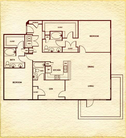 1,685 sq. ft. floor plan