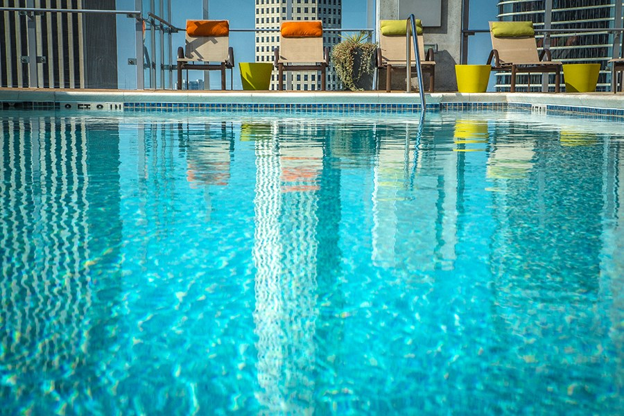 Pool at Listing #250201