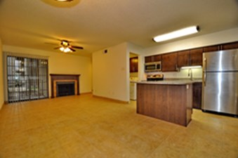 Living/Kitchen at Listing #135839