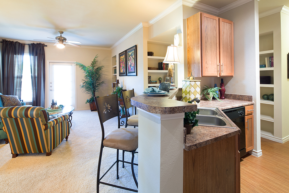 Living/Kitchen at Listing #144771
