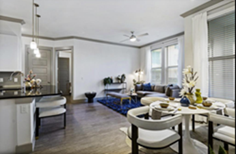 Living/Dining at Listing #302203