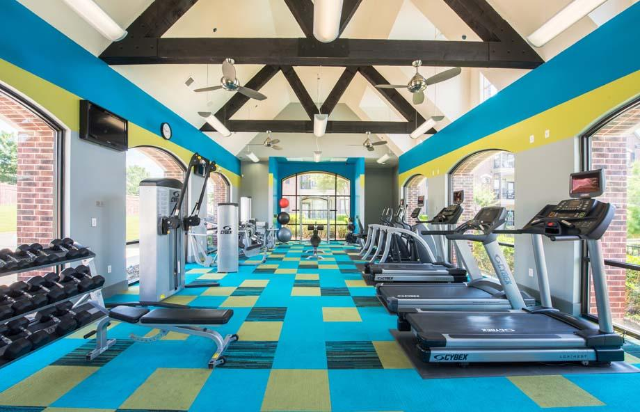 fitness center at Listing #146426