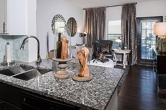 Living/Kitchen at Listing #144769