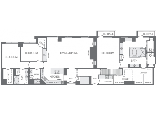 3,212 sq. ft. Q floor plan