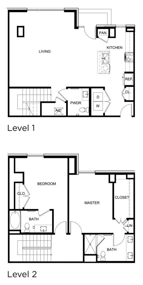1,759 sq. ft. C1 floor plan