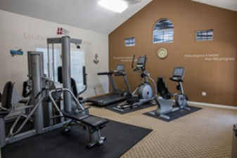 Fitness Center at Listing #137938
