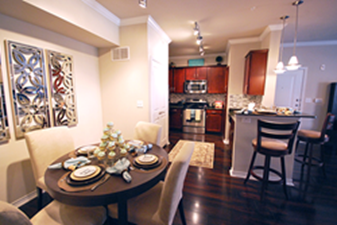 Dining/Kitchen at Listing #151501
