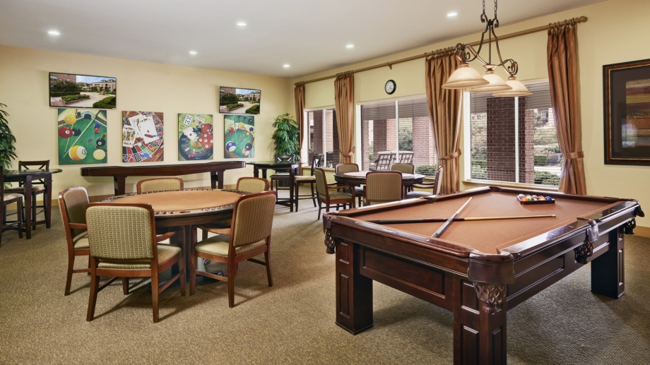 Gameroom at Listing #144719