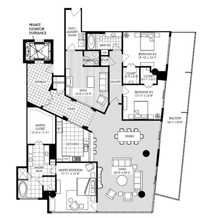 3,224 sq. ft. B12 floor plan