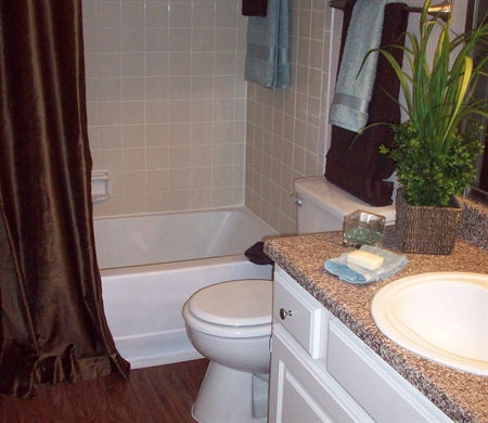 Bathroom at Listing #138324