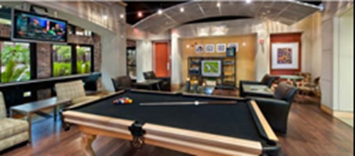 Gameroom at Listing #139356