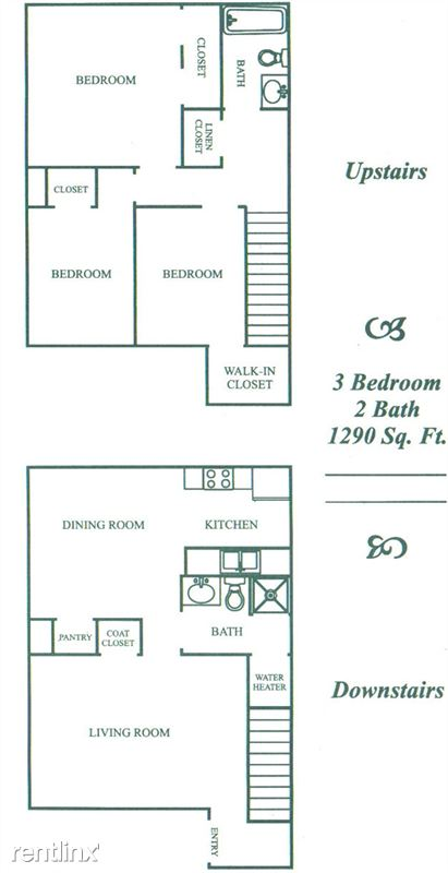1,290 sq. ft. C floor plan