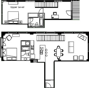 1,483 sq. ft. floor plan