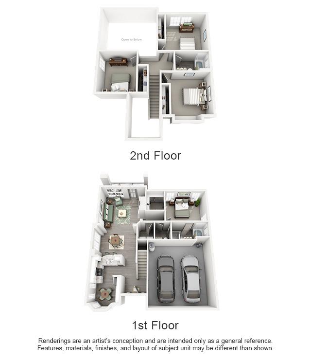 1,553 sq. ft. PINNACLE/HOUSE floor plan