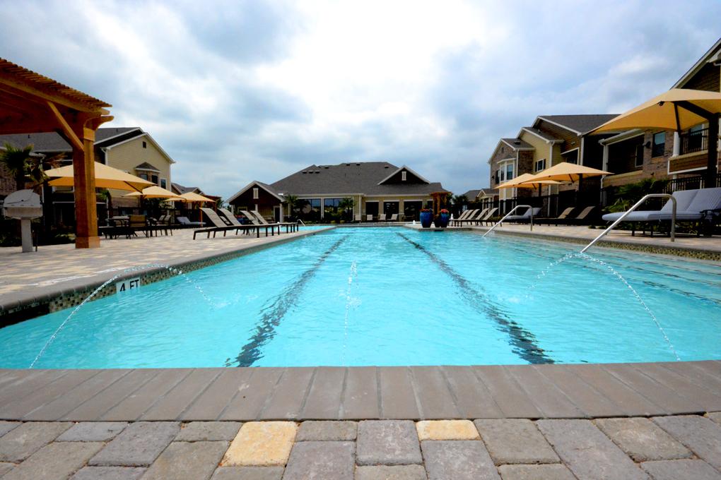 Pool at Listing #256373