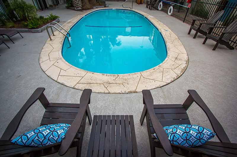 Hot Tub at Listing #139629