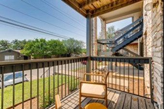 Patio at Listing #140721