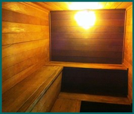 Sauna at Listing #135990
