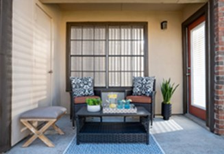 Patio at Listing #135841