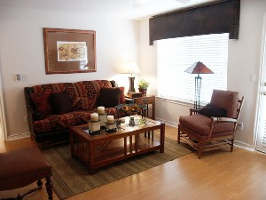 Living Room at Listing #144047