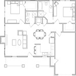 1,424 sq. ft. D floor plan