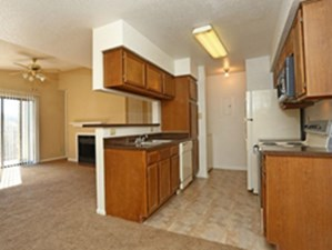 Living/Kitchen at Listing #140342