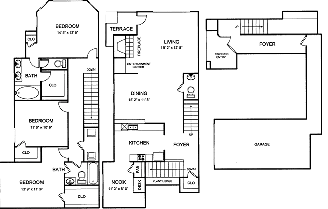 1,896 sq. ft. floor plan