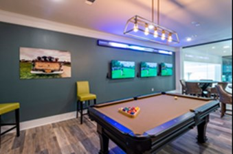Gameroom at Listing #328990