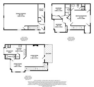 1,424 sq. ft. TH5-GAR floor plan