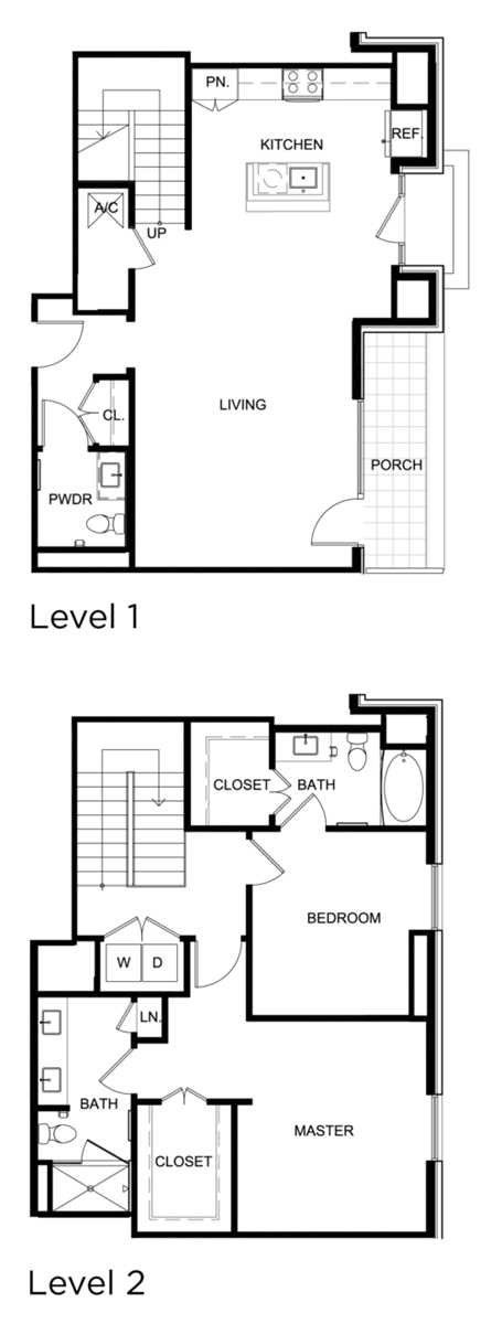 1,584 sq. ft. C4 floor plan