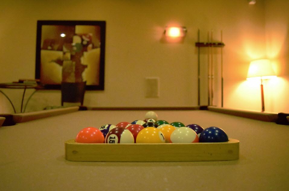 Gameroom at Listing #144268