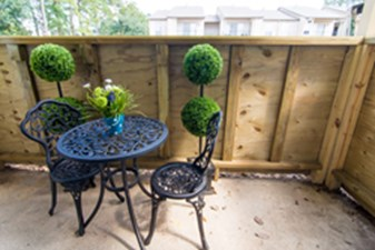 Patio at Listing #138595