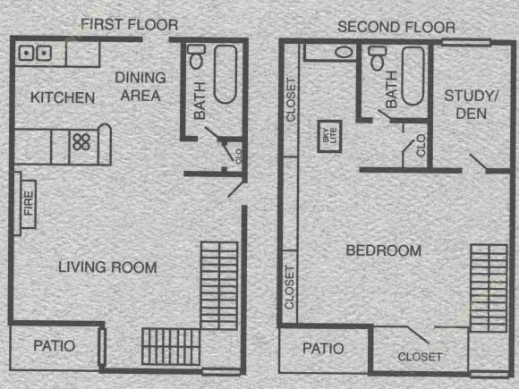 915 sq. ft. to 921 sq. ft. A8/A9 floor plan