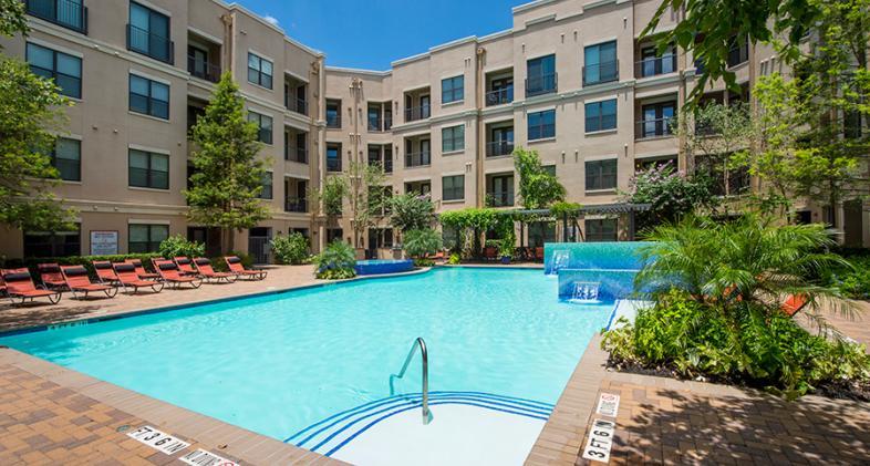 Pool at Listing #150837