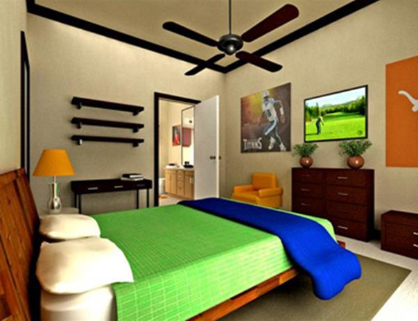 Bedroom at Listing #145148