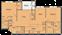 1,052 sq. ft. Maple(B2P) floor plan