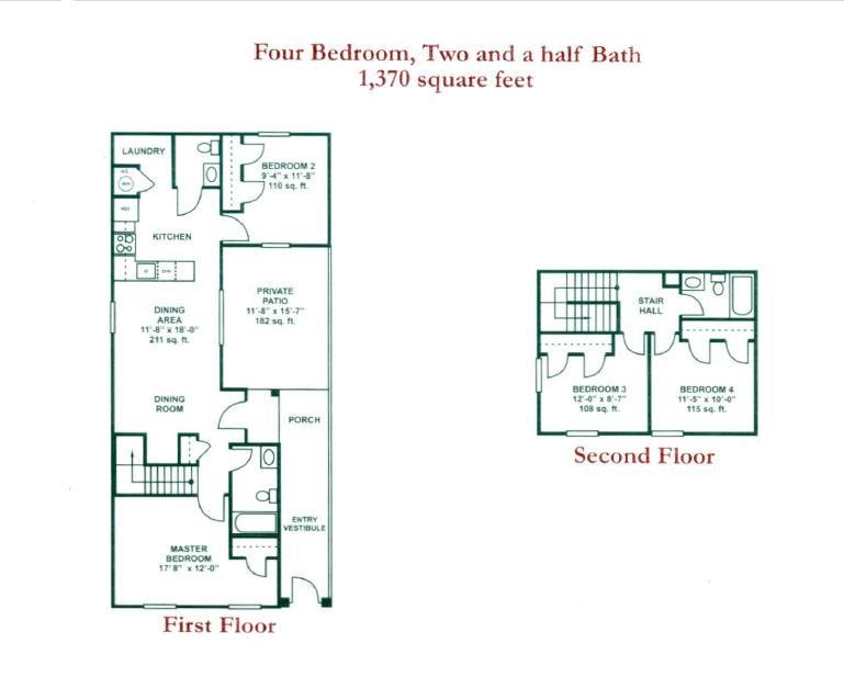 1,370 sq. ft. 50 floor plan