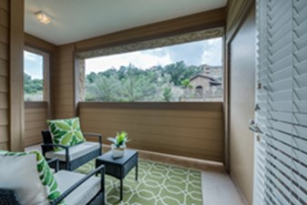 Balcony at Listing #155261