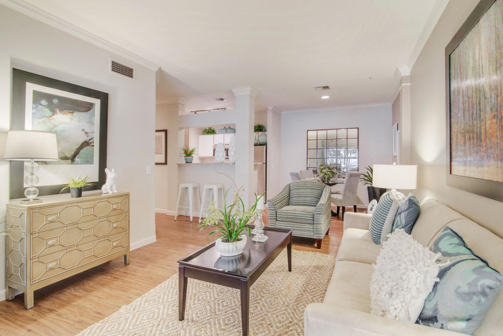 Living/Dining at Listing #138674