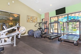 Fitness Center at Listing #135655