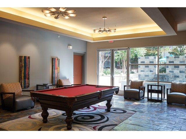 Gameroom at Listing #144646