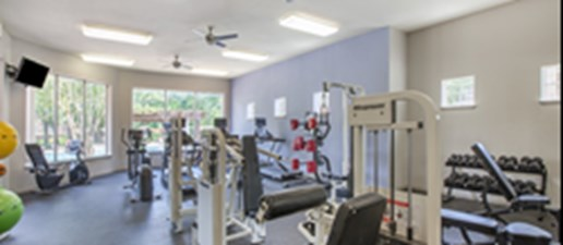 Fitness Center at Listing #139029