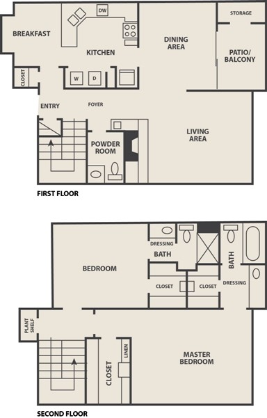 1,513 sq. ft. B-2 floor plan