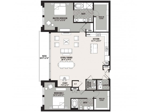 2,099 sq. ft. Preston(B.11) floor plan