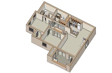 950 sq. ft. 30 floor plan