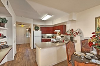 Dining/Kitchen at Listing #147868