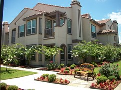 Colony Townhomes Apartments Waxahachie TX